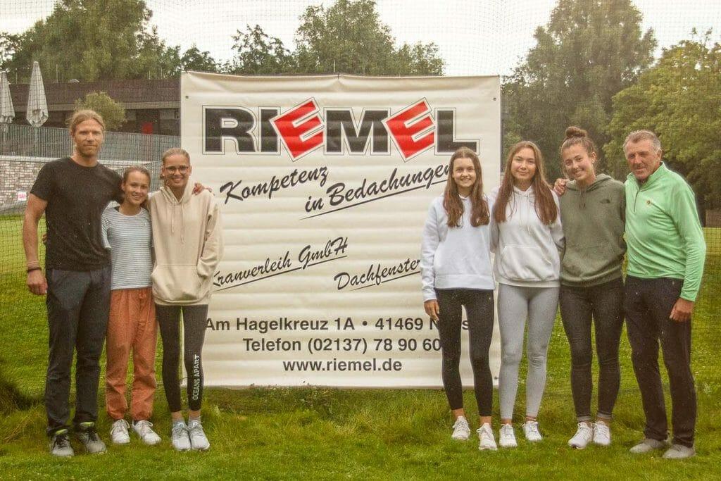 Sportsponsoring Riemel Bedachungen Golfclub Hummelbachaue